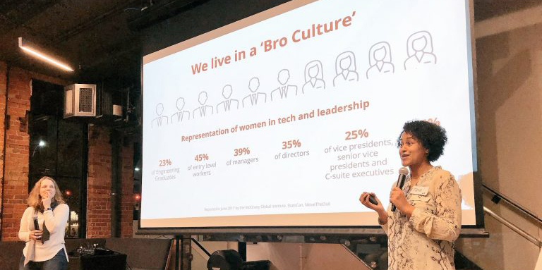 the bro culture our intentions women in tech coaching circle